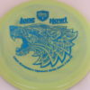 PD - Swirly S Line - Colten Montgomery Lone Howl - blue - 175g - 175-6g - somewhat-flat - neutral