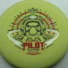 Pilot - light-yellow - electron-firm - black - red-orange-fade - silver - 171g - 172-5g - somewhat-puddle-top - very-stiff