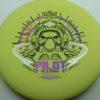 Pilot - light-yellow - electron-firm - black - pink-purple-fade - silver - 173g - 173-0g - somewhat-puddle-top - very-stiff