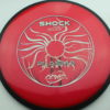 Shock - red - plasma - black - black - silver-holographic - 174g - 176-5g - neutral - neutral