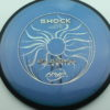 Shock - blend-bluepurple - plasma - black - black - silver-holographic - 175g - 177-0g - neutral - neutral