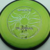 Shock - green - plasma - black - black - silver-holographic - 174g - 176-2g - neutral - neutral