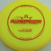 Suspect - Lucid-X - Paige Pierce 5x - yellow - bronze - 175g - 176-8g - somewhat-puddle-top - somewhat-stiff