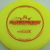 Suspect - Lucid-X - Paige Pierce 5x - yellow - bronze - 176g - 175-5g - super-flat - somewhat-stiff
