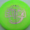 Gator3 - yellowgreen - champion - light-pink - 175g - 176-2g - somewhat-flat - somewhat-stiff