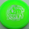Hawg - green - champion - silver - 175g - 176-4g - somewhat-domey - neutral