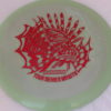 Wraith - Swirly Star - Madison Walker - red - 175g - 174-2g - somewhat-domey - neutral