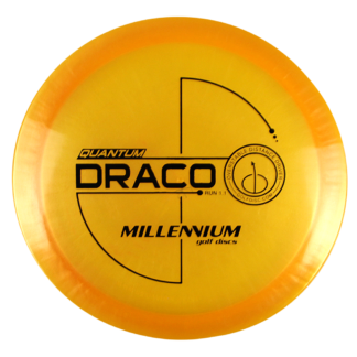 Millennium Quantum Draco pearly orange with black stamp