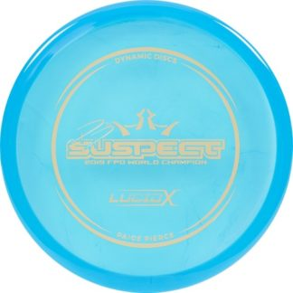 Lucid-X Suspect Blue with Gold foil