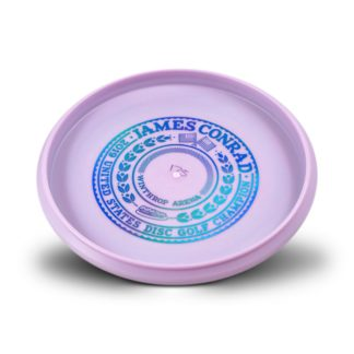 USDGC Conrad Aviar - Light Pink with Blue foil bottom stamp