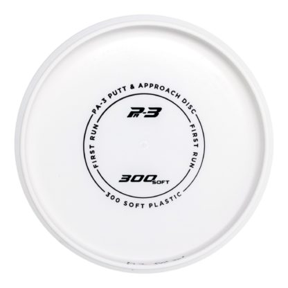 Prodigy 300 Soft PA3 in white with black stamp.