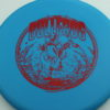 Bullfrog - blue - xt - red - 304 - 172g - 172-2g - somewhat-puddle-top - somewhat-stiff