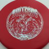 Bullfrog - red - xt - silver-fracture - 304 - 166g - 167-0g - pretty-flat - somewhat-stiff