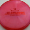 Judge - Chameleon Lucid-X - red - 176g - 176-8g - pretty-flat - somewhat-stiff