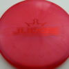 Judge - Chameleon Lucid-X - red - 174g - 174-7g - pretty-flat - somewhat-stiff