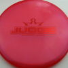 Judge - Chameleon Lucid-X - red - 171g - 172-0g - pretty-flat - somewhat-stiff