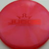 Judge - Chameleon Lucid-X - red - 171g - 172-1g - pretty-flat - somewhat-stiff