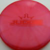 Judge - Chameleon Lucid-X - red - 174g - 175-5g - pretty-flat - somewhat-stiff