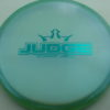 Judge - Chameleon Lucid-X - teal - 173g - 174-3g - pretty-flat - somewhat-stiff