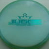 Judge - Chameleon Lucid-X - teal - 175g - 176-3g - pretty-flat - somewhat-stiff