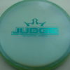 Judge - Chameleon Lucid-X - teal - 174g - 174-6g - pretty-flat - somewhat-stiff