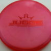 Judge - Chameleon Lucid-X - red - 176g - 175-9g - pretty-flat - somewhat-stiff
