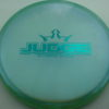 Judge - Chameleon Lucid-X - teal - 176g - 177-2g - pretty-flat - somewhat-stiff