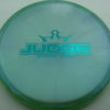 Judge - Chameleon Lucid-X - teal - 171g - 172-1g - pretty-flat - somewhat-stiff
