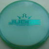 Judge - Chameleon Lucid-X - teal - 173g - 173-2g - pretty-flat - somewhat-stiff