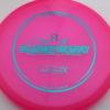 Suspect - Lucid-X - Paige Pierce 5x - pink - teal - 176g - 176-9g - super-flat - somewhat-stiff