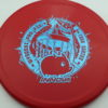 Pig - Pro - Ricky Wysocki Tour Series - red - blue-fracture - 175g - 172-5g - pretty-domey - somewhat-stiff