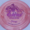 Rampage - Swirly Icon - fuchsia-fracture - 166g - 167-0g - somewhat-domey - pretty-stiff
