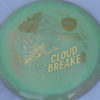 DD3 - Swirly S-Line - Eagle McMahon Cloud Breaker - gold - 175g - 177-1g - pretty-domey - somewhat-stiff