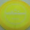 Getaway - Lucid-X - Paige Bjerkaas - yelloworange - white - 173g - 173-7g - somewhat-domey - somewhat-stiff