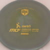 MD5 - Not so Swirly S Line ;) - gold - 175g - 174-5g - somewhat-flat - somewhat-stiff