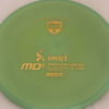 MD5 - Not so Swirly S Line ;) - gold - 175g - 174-1g - somewhat-flat - somewhat-stiff