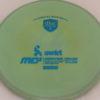 MD5 - Not so Swirly S Line ;) - blue - 175g - 175-0g - somewhat-flat - somewhat-stiff