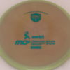 MD5 - Not so Swirly S Line ;) - teal - 175g - 172-6g - somewhat-flat - somewhat-stiff