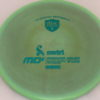 MD5 - Not so Swirly S Line ;) - teal - 175g - 175-1g - somewhat-flat - somewhat-stiff