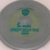 MD5 - Not so Swirly S Line ;) - teal - 175g - 175-4g - somewhat-flat - somewhat-stiff