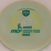 MD5 - Not so Swirly S Line ;) - teal - 175g - 173-9g - somewhat-flat - somewhat-stiff