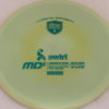 MD5 - Not so Swirly S Line ;) - teal - 175g - 174-5g - somewhat-flat - somewhat-stiff