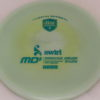 MD5 - Not so Swirly S Line ;) - teal - 175g - 174-1g - somewhat-flat - somewhat-stiff