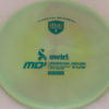 MD5 - Not so Swirly S Line ;) - teal - 175g - 174-4g - neutral - somewhat-stiff