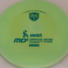 MD5 - Not so Swirly S Line ;) - teal - 175g - 175-8g - somewhat-flat - somewhat-stiff