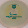 MD5 - Not so Swirly S Line ;) - teal - 175g - 174-8g - somewhat-flat - somewhat-stiff