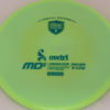 MD5 - Not so Swirly S Line ;) - teal - 175g - 174-9g - neutral - somewhat-stiff