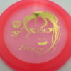 October Ghouls - Discmania PD, PD2, DD2, P2 - dd2 - pink - c-line - gold - 175g - 175-4g - somewhat-domey - pretty-stiff