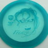 October Ghouls - Discmania PD, PD2, DD2, P2 - dd2 - blue - c-line - teal - 175g - 176-1g - slight-dome-to-a-puddle-top-center - pretty-stiff