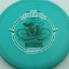 Gator - Glow Champion - Scott Withers - glow-blue - glow-champion - white - green - 175g - 175-5g - somewhat-puddle-top - somewhat-stiff